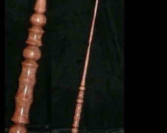 Koa Handmade MAGIC WAND, Pagan, Wicca, WIZARD, Druid, Fairy