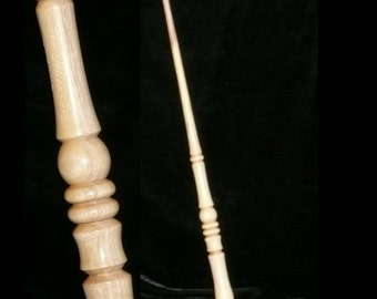 ORANGE Handmade MAGIC Wand, Pagan, Wicca, WIZARD, Fairy, Druid