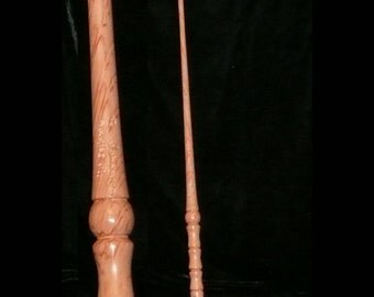 FIR Handmade MAGIC WAND, Pagan, Wicca, Fairy, Wizard, Druid