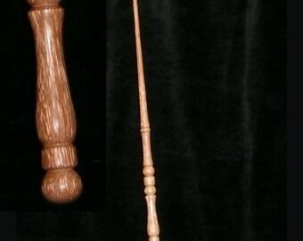 RED Palm Handmade MAGIC WAND, Pagan, Wicca, Fairy, Wizard, Druid