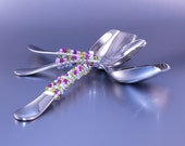 QUALITY Candy Buffet Scoops, Stainless Steel Scoop, Beaded Scoop, Lolly Scoop, CUSTOM COLORS