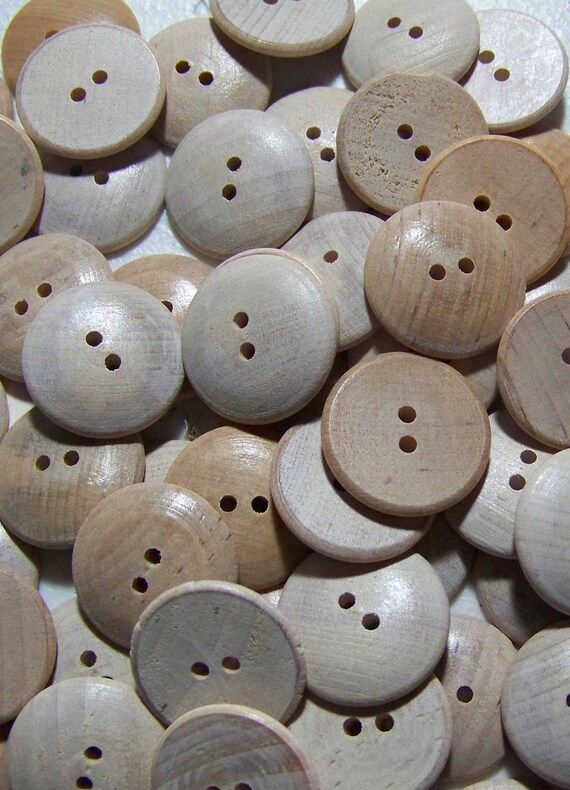Lot of 12 Alterable Wooden Buttons