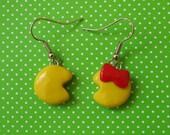 Pac Man/MS Pac Man Earrings