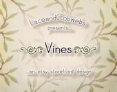 A n Etsy Banner & Shop Graphics Set : Vines