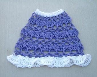 Lavender Lace CROCHET PONCHO PATTERN