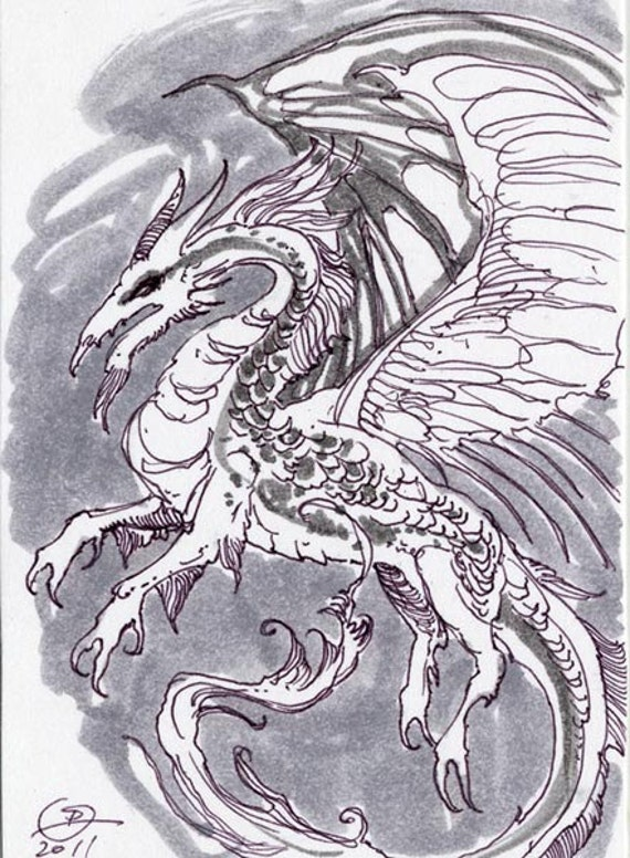 ACEO - Dragon