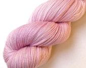 Glimmer Lace SW Merino and Silk Yarn - Petal, 870 yards