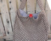 Living Large hobo by NeNe Bags in Chandie Fabric new for summer