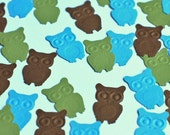 100 Hand Punched - Embossed Owls - Cardstock Punches - See Listing for 50 Other Punch Options - Many Colors and Punches Available
