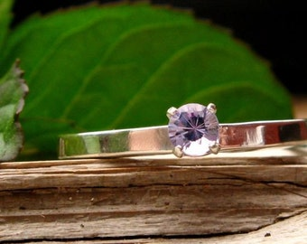 Tanzanite and Sterling Silver Ring - Size 6 - Free Gift Wrapping