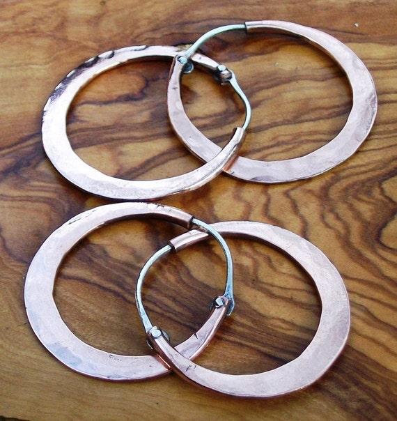 CAMPANELLE - Copper Earrings