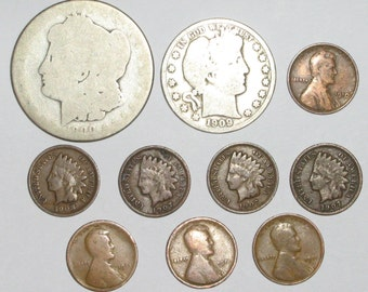 """Early """"1900's Coin Collection 2""""    Ships for free in US"""