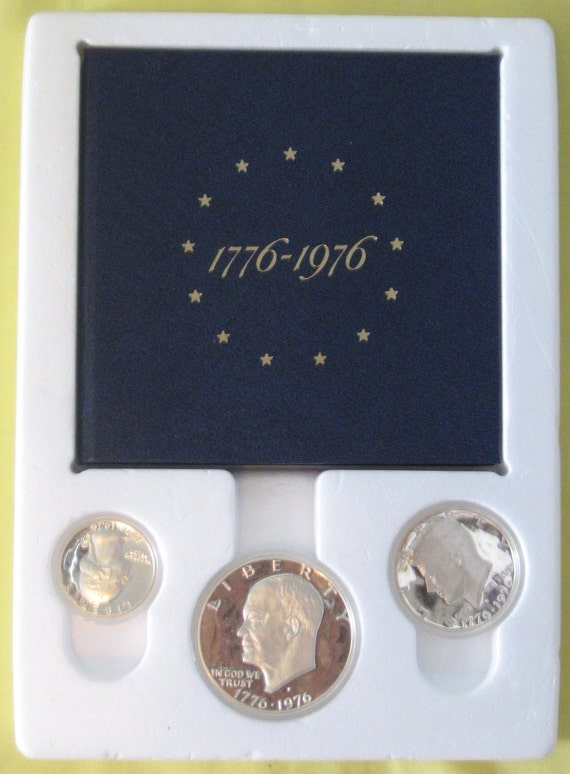 United States Bicentennial 40 Silver Proof Set 1776 1976