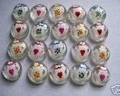 Hand painted glass gems party favors mini art teapots teapot  tea pots