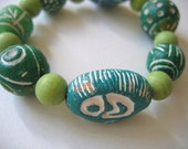 Green Earth Bracelet SALE SALE SALE SALE