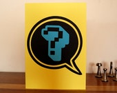 Speech Bubble Question Card