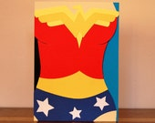 Wonder Woman Costume Card