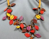 Tutorial - Falling Leaves Necklace