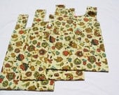 Set of THREE Reusable Grocery Bags   NEW PRICE