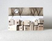 original art winter trees wood sculpture wall art - black friday etsy cyber monday etsy free shipping etsy sale
