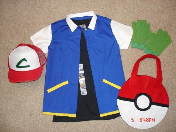 Pokemon Ash Ketchum Costume Ash Ketchum Pokemon Trainer