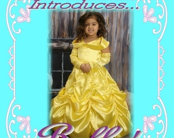 BELLE Beauty and the Beast Custom Boutique Dress Up Costume 4/5