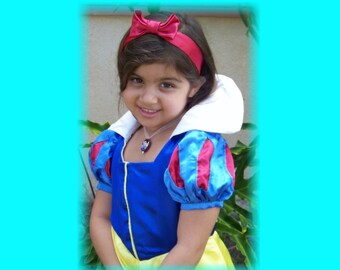 Snow White Custom Boutique Princess Costume size 3/4
