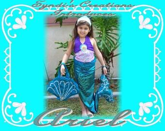 Ariel the Little Mermaid  size 2/3