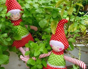 Pixie Belle PDF Sewing Pattern | elf sewing pattern, pixie sewing pattern, doll pattern, PDF sewing pattern, elf, pixie, doll, woodland doll