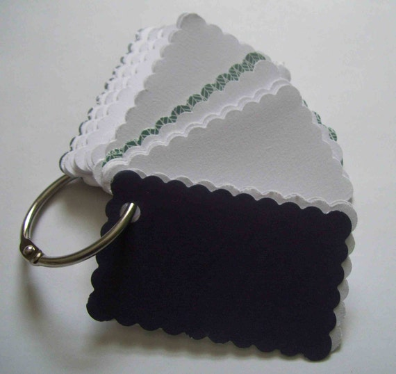 CLEARANCE SALE Upcycled keychain notebook