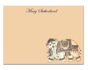 Set of 8 Personalised Note Cards