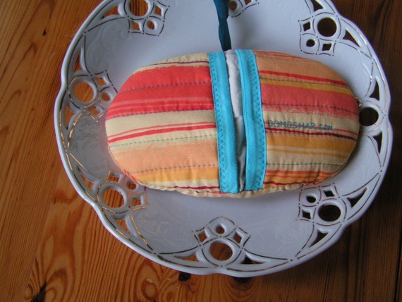 Pot Holder to Play With - Yellow - Orange - Red