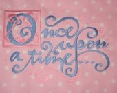 Custom Quilt Block For Your Princess    Made To Order