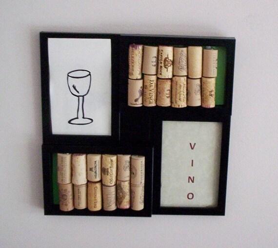Cork Board Wine Art Wine Decor Gifts Upcycled Corks