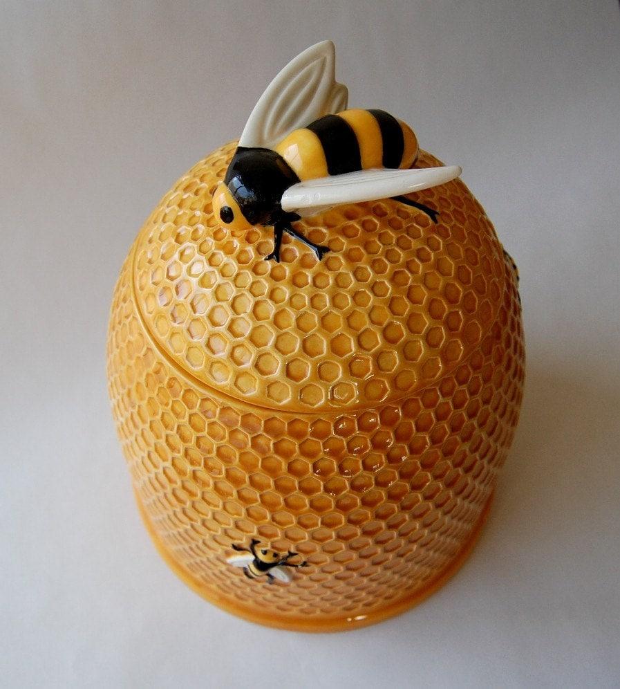 Bee hive cookie jar - Beehive cookie jar ...