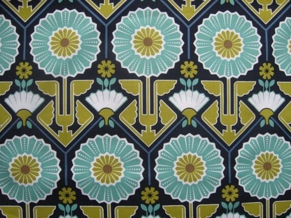 Joel Dewberry Modern Meadow Sunflower Lake Yardage 1 Yard
