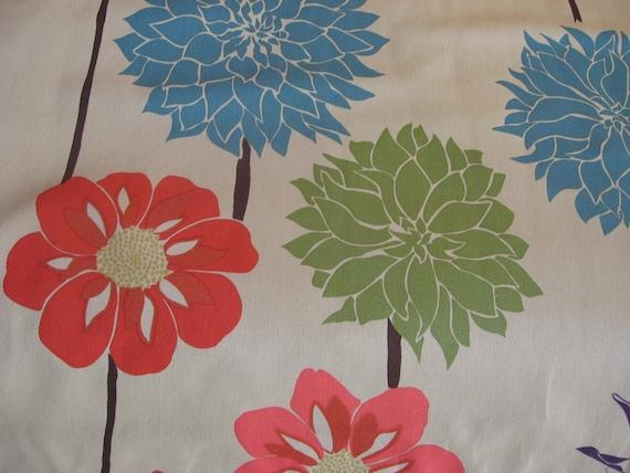 SALE Del Hi Home Tan Home Decorator Fabric by Valori Wells 1/2 Yard