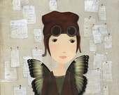 Genevieve 2 - A print by Katherine Quinn