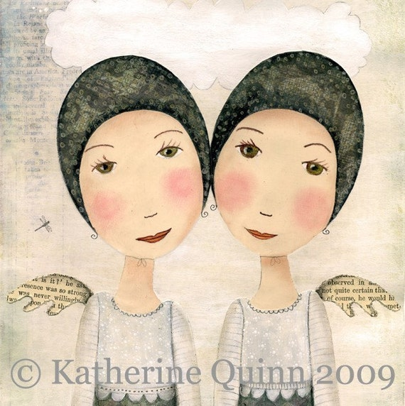 There are answers in these moments ART PRINT By Katherine Quinn
