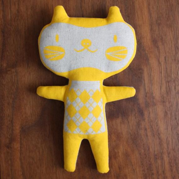 SALE, YELLOW Cat Doll, Ari