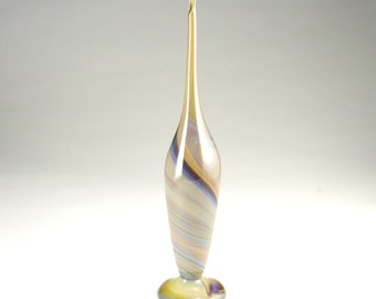 Calcedonio Glass Vase - Hand Blown - Free Shipping
