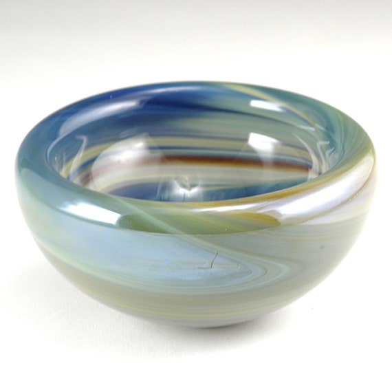 Calcedonio Glass Bowl - Free Shipping