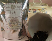 Lady Londonderry Tea - Strawberry Lemon Tea - Traditional Tea Blend - Loose Leaf Tea - Black Tea