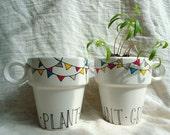 Gardener's Mug Planter