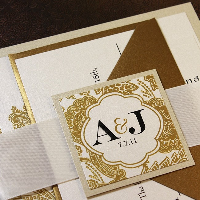 White And Gold Wedding Invitations absolutely amazing ideas for your invitation example