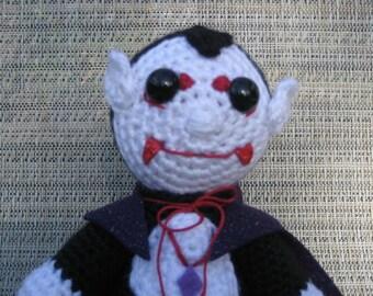Vampire Amigurumi Crochet Pattern Instant Download