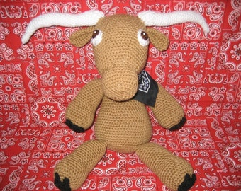 Texas Longhorn and Horse Amigurumi Crochet Pattern Instant Dowload