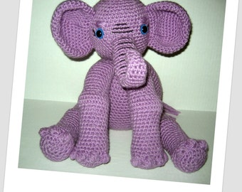 Miss Ellie Elephant Crochet Pattern