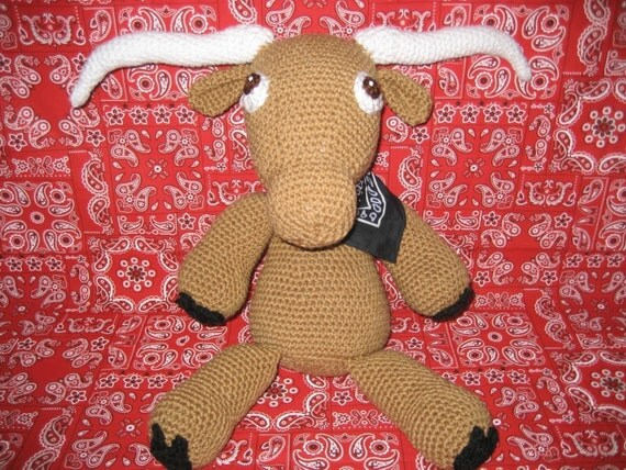 Longhorn and Horse Amigurumi Crochet Pattern