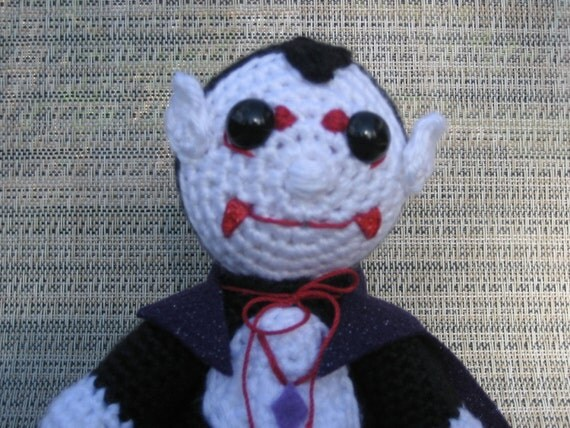 Vampire Amigurumi Crochet Pattern Instant Download